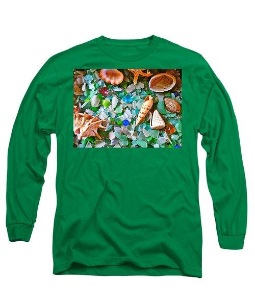Shells And Glass Long Sleeve T-Shirt