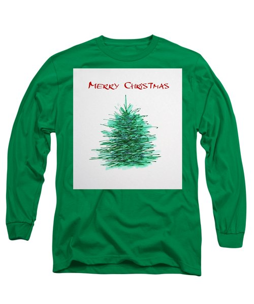 Simple Christmas  Long Sleeve T-Shirt by Marna Edwards Flavell
