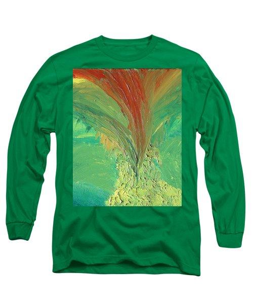 Splash Long Sleeve T-Shirt by Karen Nicholson