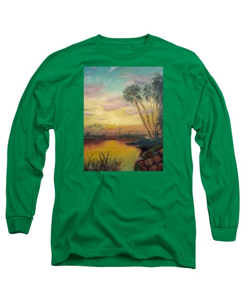 St. Johns Sunset Long Sleeve T-Shirt