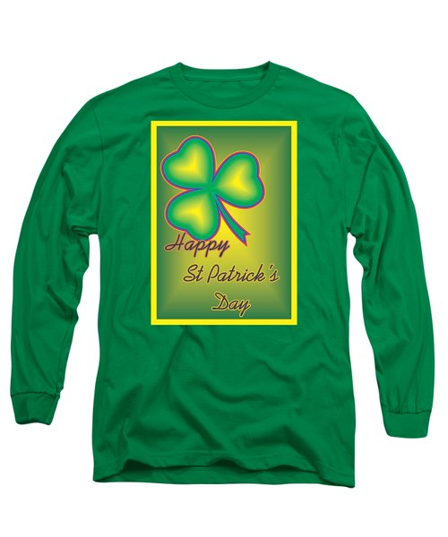 St. Patrick's Day Long Sleeve T-Shirt by Sherril Porter