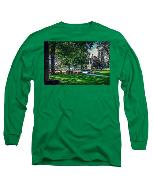 Summer In Juckett Park Long Sleeve T-Shirt