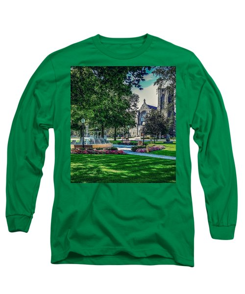 Summer In Juckett Park Long Sleeve T-Shirt