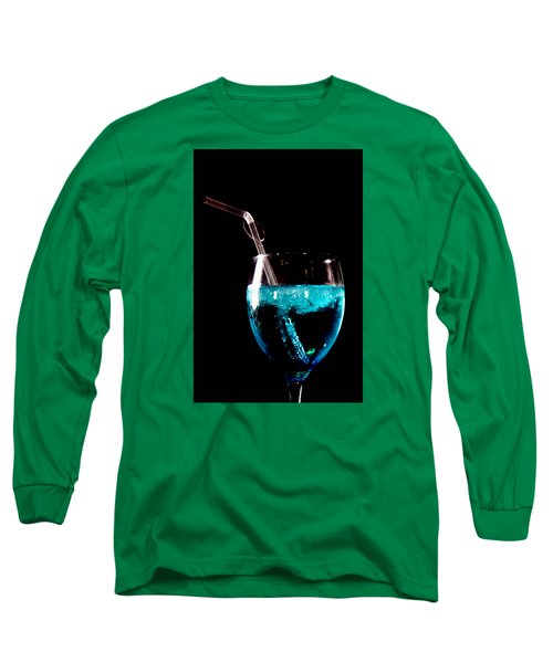Long Sleeve T-Shirt featuring the photograph sup by Jez C Self