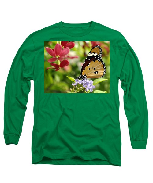 Long Sleeve T-Shirt featuring the photograph Tasting Colors by Bliss Of Art