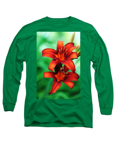 Tawny Beauty Long Sleeve T-Shirt by Debbie Oppermann