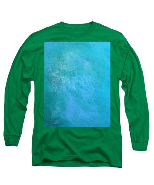 Teal Long Sleeve T-Shirt by Antonio Romero