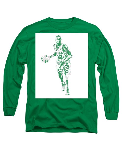 Terry Rozier Boston Celtics Pixel Art 10 Long Sleeve T-Shirt