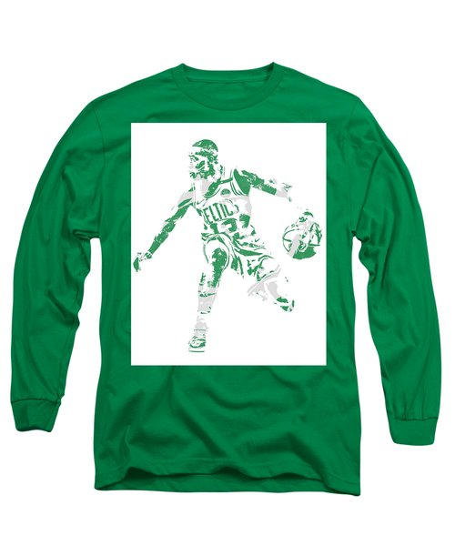 Terry Rozier Boston Celtics Pixel Art 13 Long Sleeve T-Shirt