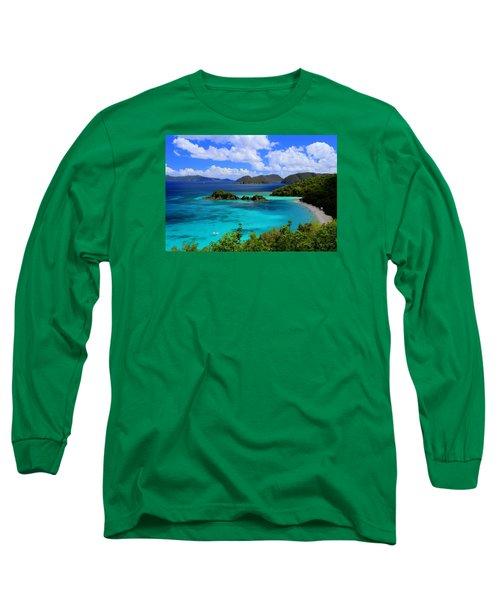 Thank You St. John Usvi Long Sleeve T-Shirt by Fiona Kennard