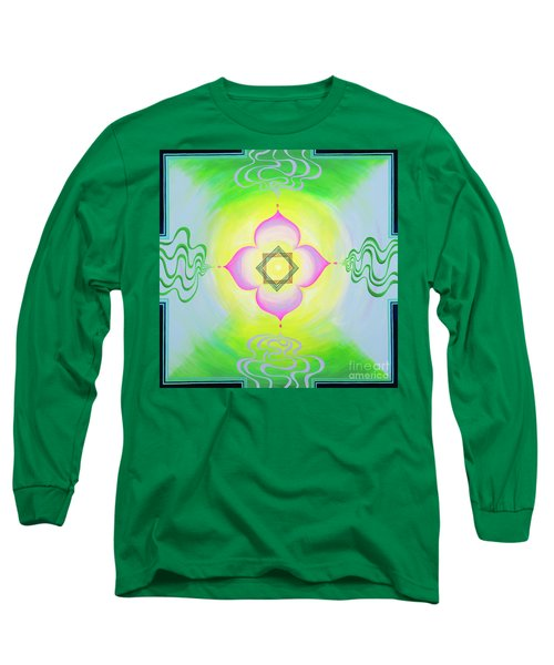 The Bagua Of The Heart Long Sleeve T-Shirt