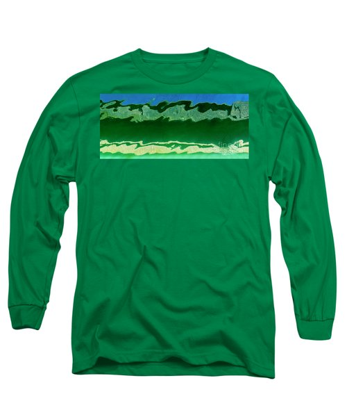 Long Sleeve T-Shirt featuring the photograph The Deep End by Wendy Wilton
