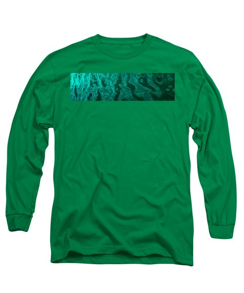 The Emerald Wave Long Sleeve T-Shirt