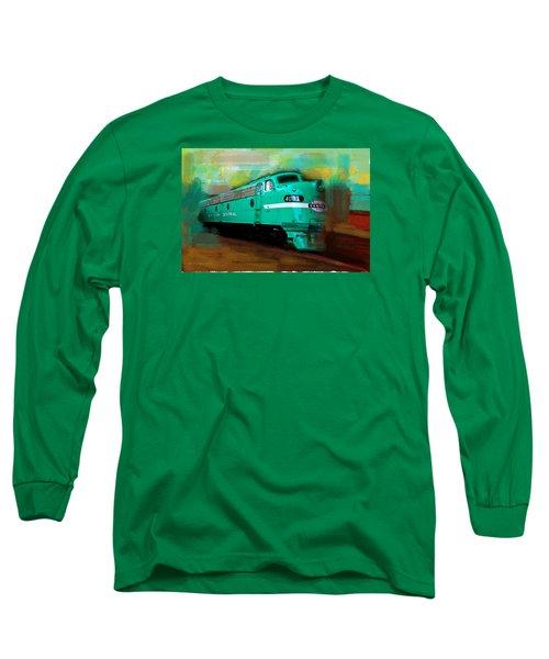 Flash II  The Ny Central 4083  Train  Long Sleeve T-Shirt