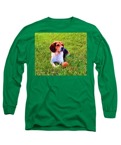 The Reserved Beagle Long Sleeve T-Shirt