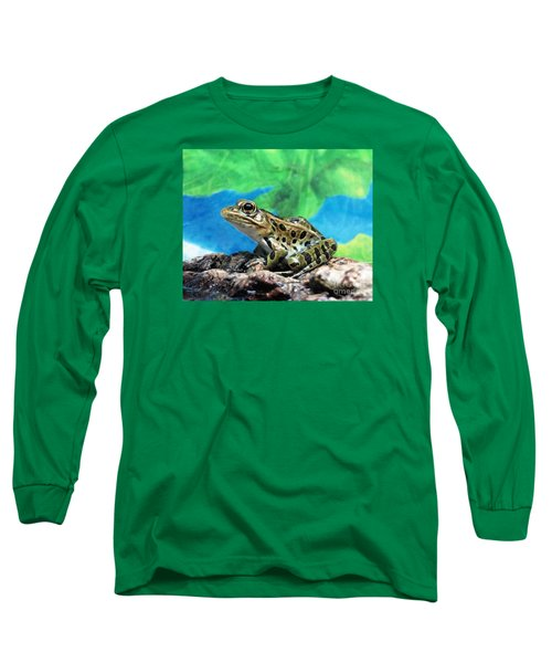 Tiny Frog Long Sleeve T-Shirt