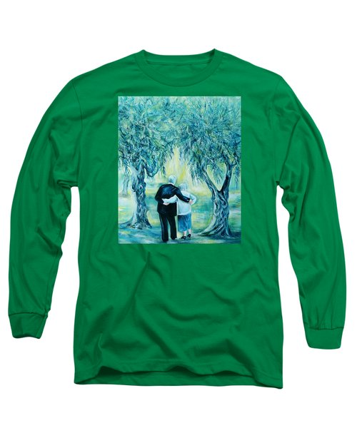 Travel Notebook.olive Groves Long Sleeve T-Shirt