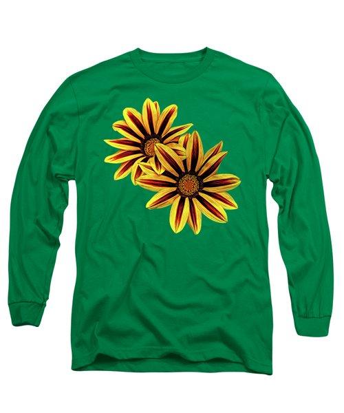 Treasure Flowers Painted Long Sleeve T-Shirt