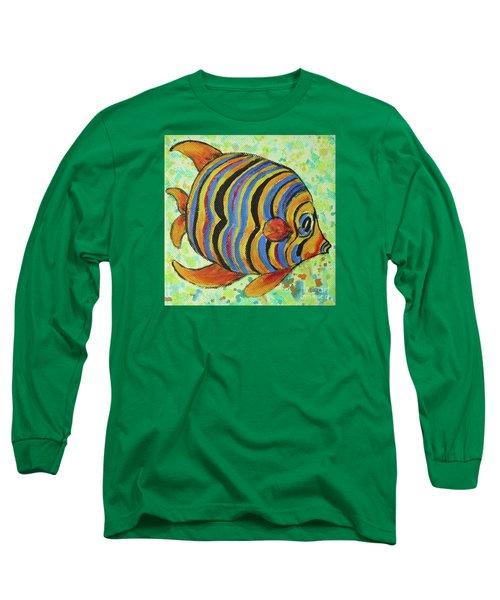 Tropical Fish Series 4 Of 4 Long Sleeve T-Shirt by Gail Kent