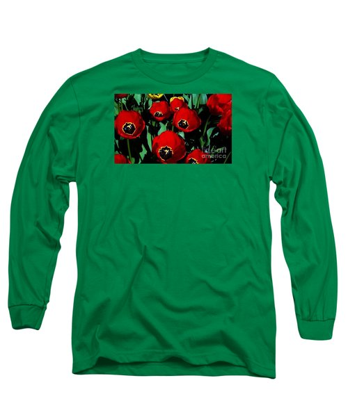 Long Sleeve T-Shirt featuring the photograph Tulips by Vanessa Palomino