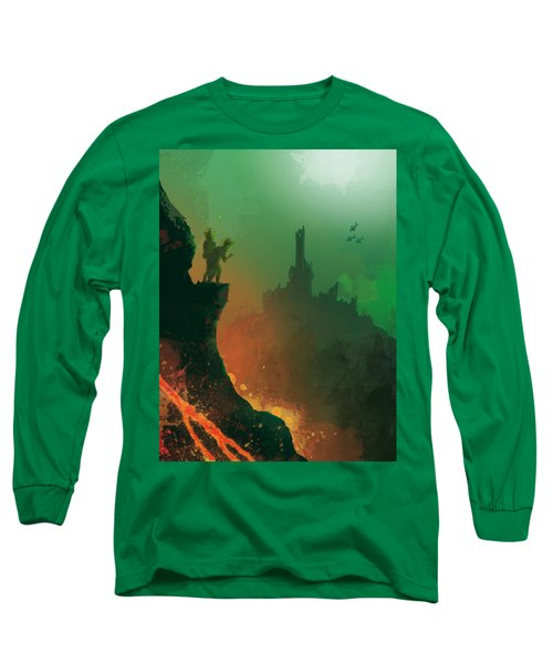 Undersea Volcano Long Sleeve T-Shirt by Andy Catling
