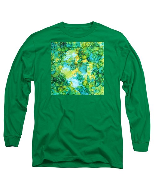 Underwater Map Long Sleeve T-Shirt