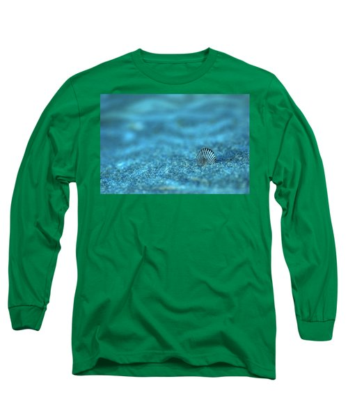 Underwater Seashell - Jersey Shore Long Sleeve T-Shirt