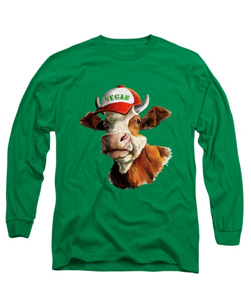 Vegan Long Sleeve T-Shirt
