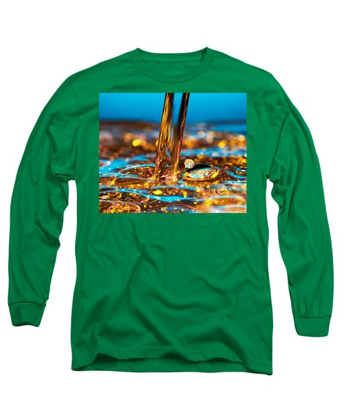 Water And Oil Long Sleeve T-Shirt