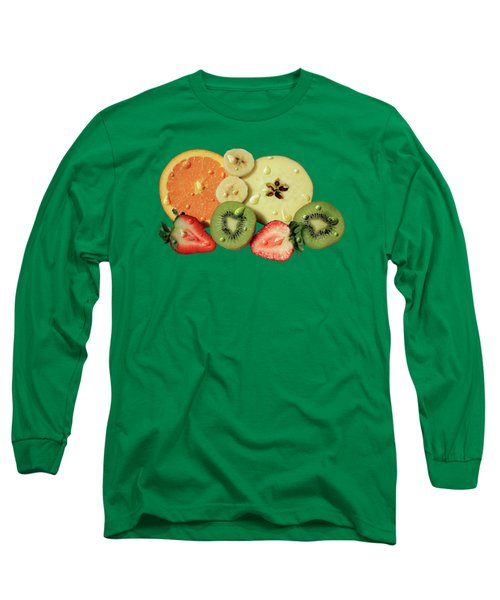 Wet Fruit Long Sleeve T-Shirt by Shane Bechler
