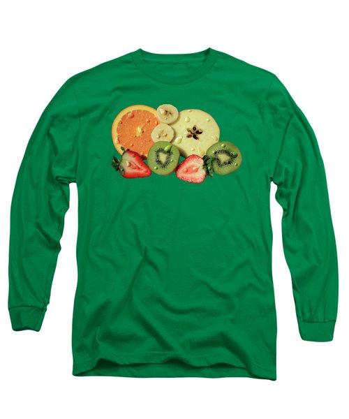 Wet Fruit Long Sleeve T-Shirt