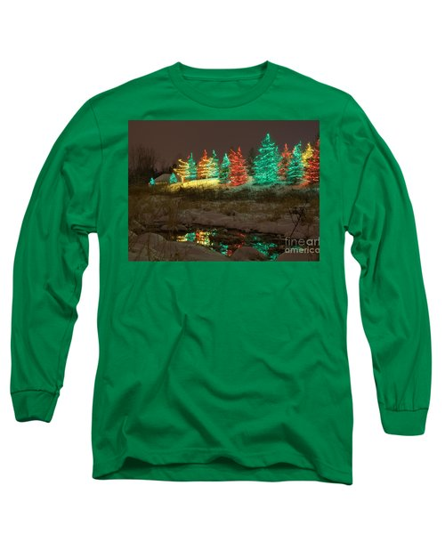 Whimsical Christmas Lights Long Sleeve T-Shirt