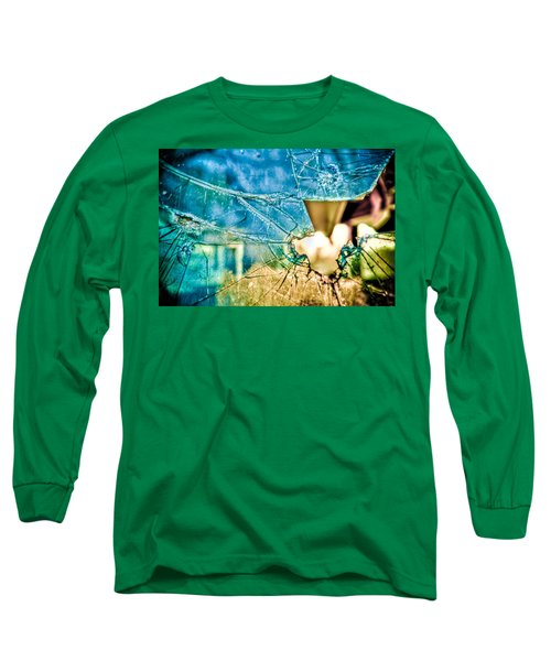 Long Sleeve T-Shirt featuring the photograph World In My Eyes by TC Morgan