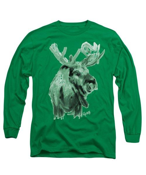 Xmas Moos Long Sleeve T-Shirt