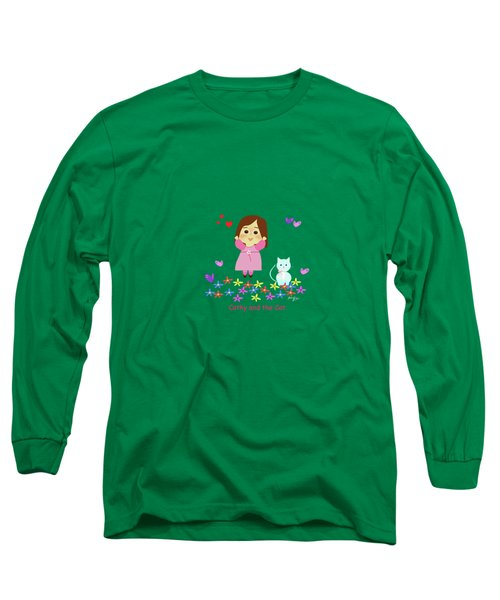 Cathy And The Cat Spring Is Coming Long Sleeve T-Shirt