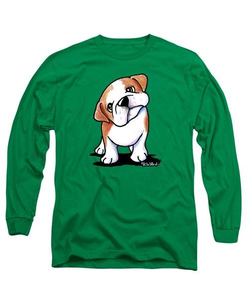Curious Bulldog Long Sleeve T-Shirt