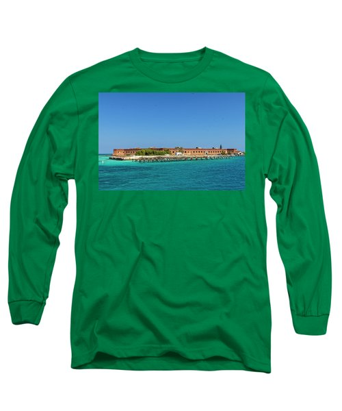 Fort Jefferson, Dry Tortugas National Park Long Sleeve T-Shirt