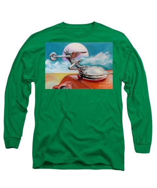 Goddess Of Speed Long Sleeve T-Shirt