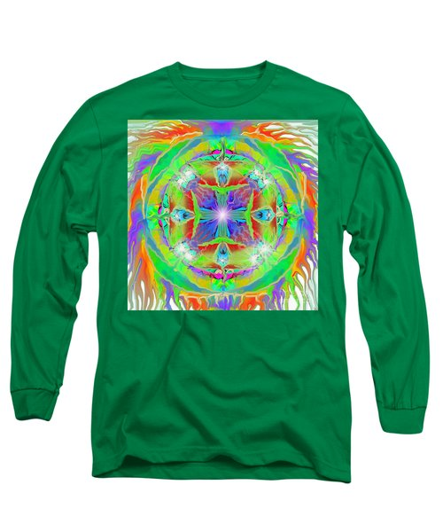 Indian Mandala Long Sleeve T-Shirt