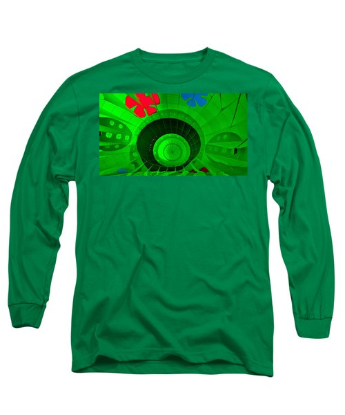 Inside The Green Balloon Long Sleeve T-Shirt