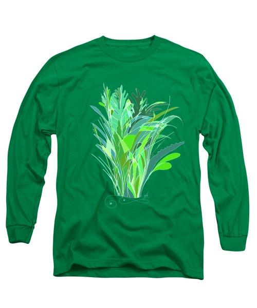 Melange Long Sleeve T-Shirt