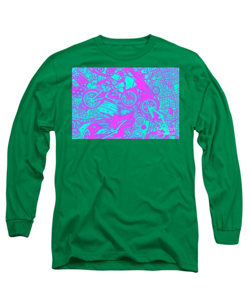 Riding Retro Routes Long Sleeve T-Shirt