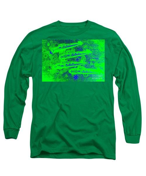 Sea Sub Sonar Long Sleeve T-Shirt