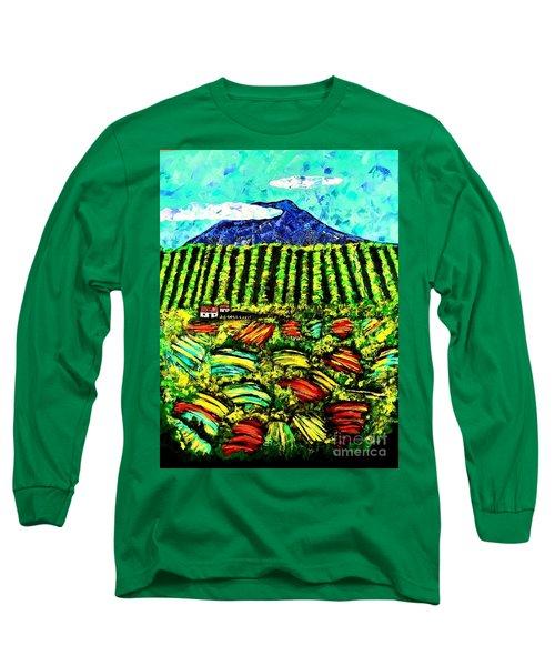 Sumatra Coffee Plantation Long Sleeve T-Shirt
