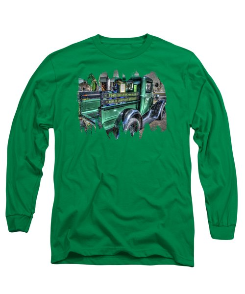 Tom's Electric Truck Long Sleeve T-Shirt