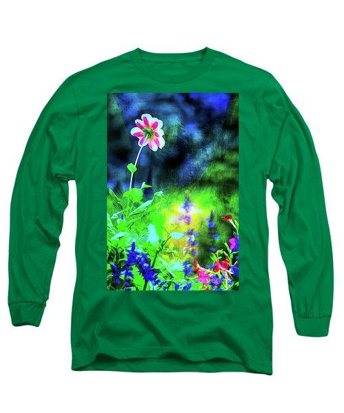 Underwater Garden Abstract Long Sleeve T-Shirt