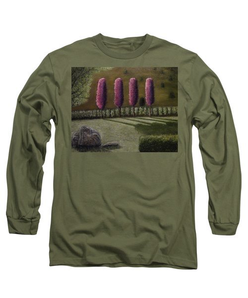 Long Sleeve T-Shirt featuring the painting  A Perfect Start by Shawn Marlow