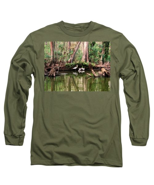 Cypress Swamp  Long Sleeve T-Shirt