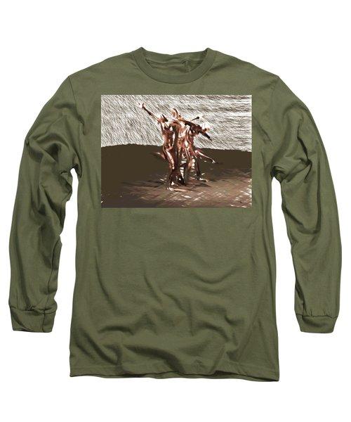 Field Of Pleasures Long Sleeve T-Shirt