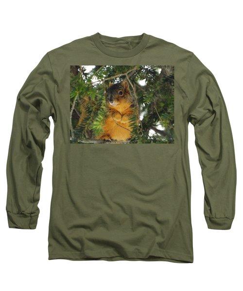 Fox Squirrel Long Sleeve T-Shirt